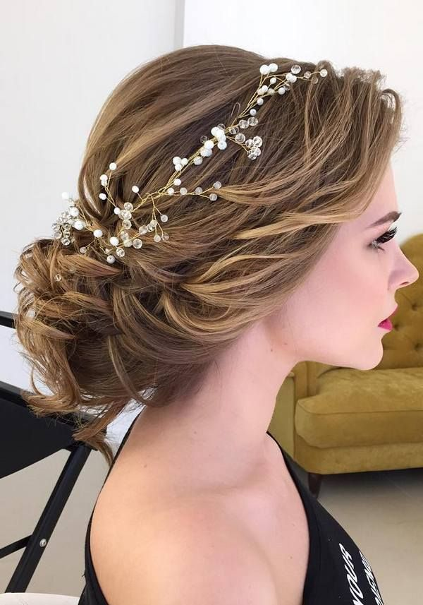 Bridal Hairstyles Half Updo Braids Chongos Updo Wedding
