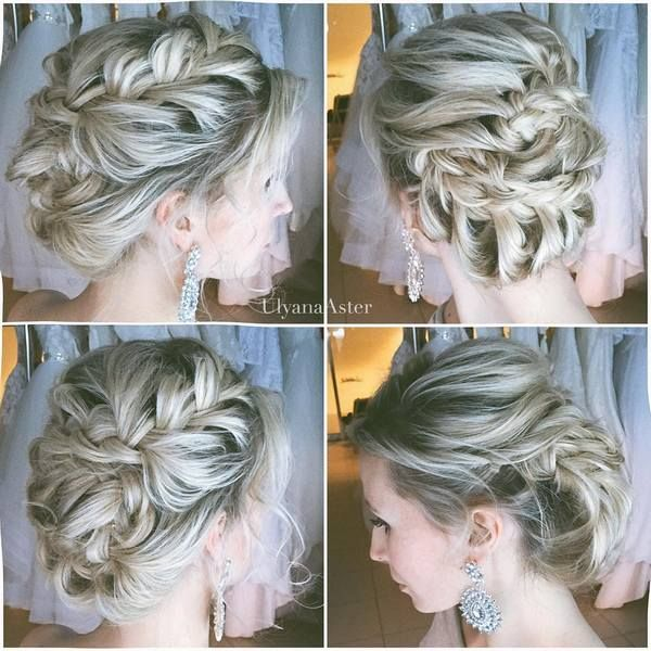 Ulyana Aster Wedding Hairstyles Inspiration | Deer Pearl Flowers