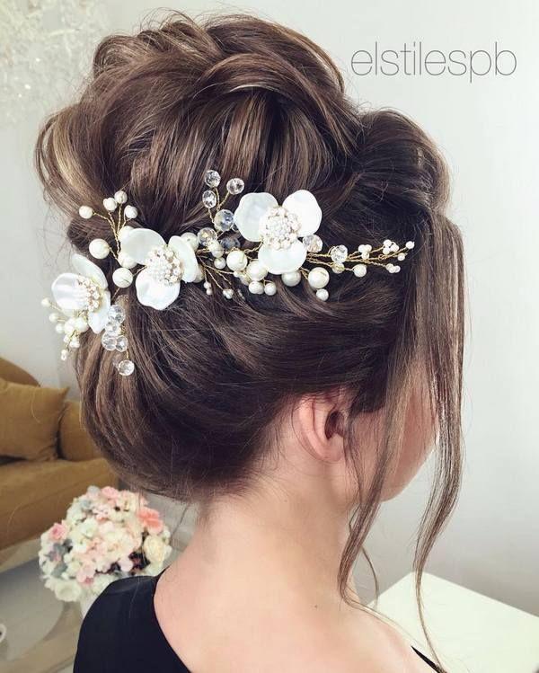 Elstile Long Wedding Hairstyles and Updos | Deer Pearl Flowers