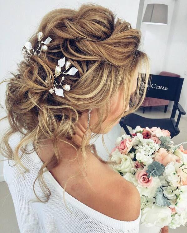 Elstile Long Wedding Hairstyles and Updos   Deer Pearl Flowers