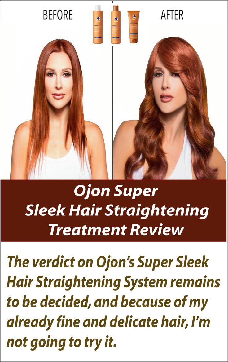 Ojon Super Sleek Hair Straightening Treatment Review  Fancy having sleek, gloss...