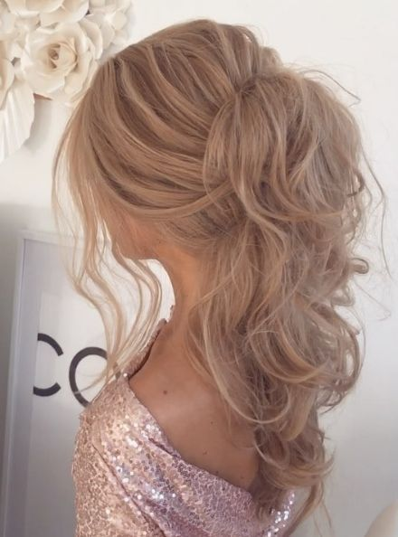 Featured Hairstyle: Ulyana Aster; www.ulyanaaster.com; Wedding hairstyle idea...