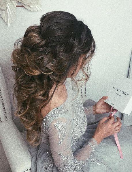 Featured Hairstyle: Ulyana Aster;www.ulyanaaster.com; Wedding hairstyle idea...