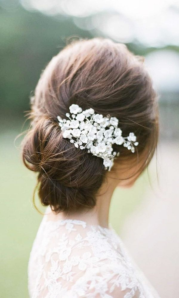 30 Wedding Hairstyles - Romantic Bridal Updos ❤ See more: www.weddingforwar......