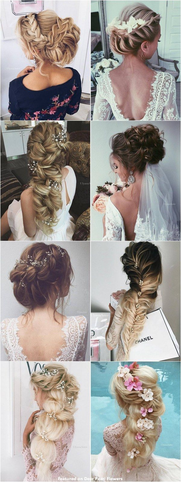 65 New Romantic Long Bridal Wedding Hairstyles to Try / Ulyana Aster www.ulyanaa...