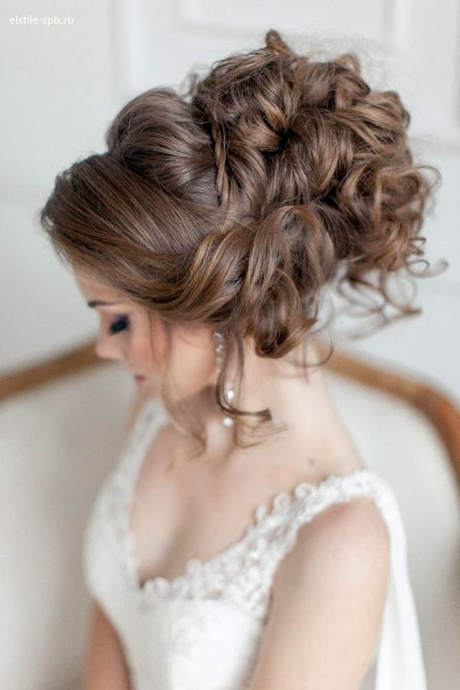 18 Creative & Unique Wedding Hairstyles ❤ From creative hairstyles with romant...