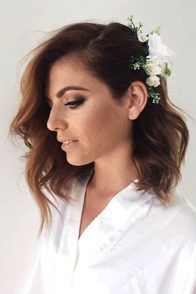 30 Pinterest Wedding Hairstyles For Your Unforgettable Wedding ❤ See more: www...