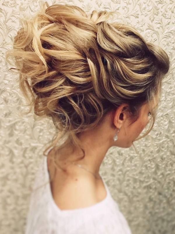 Wedding Hairstyles for Long Hair form Tonyastylist   Deer Pearl Flowers