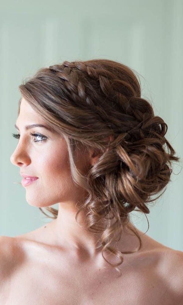 18 Most Romantic Bridal Updos ❤  These romantic wedding hairstyles have a perf...
