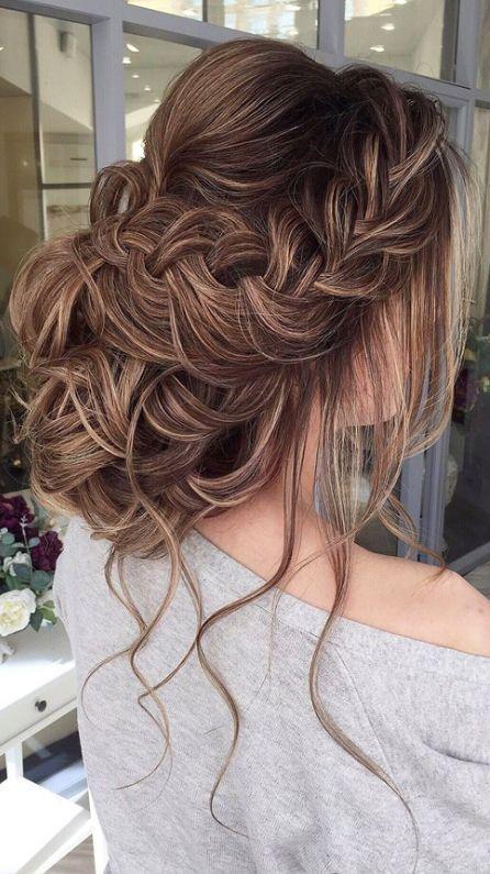 Featured Hairstyle: Elstile;www.elstile.com; Wedding hairstyle idea.