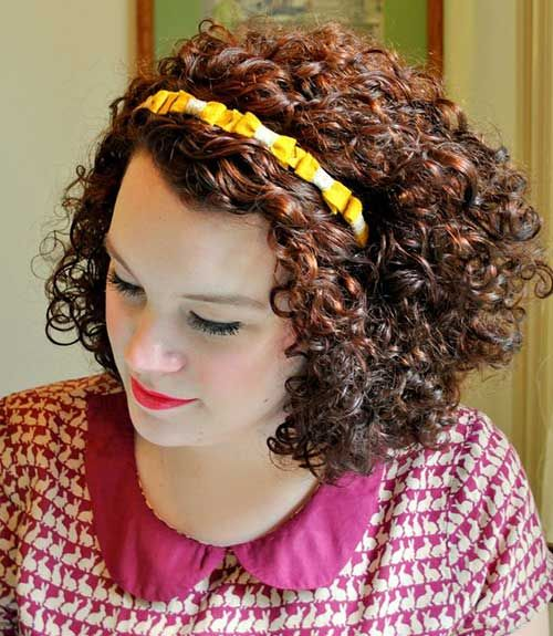 10 Best Short Thick Curly Hairstyles