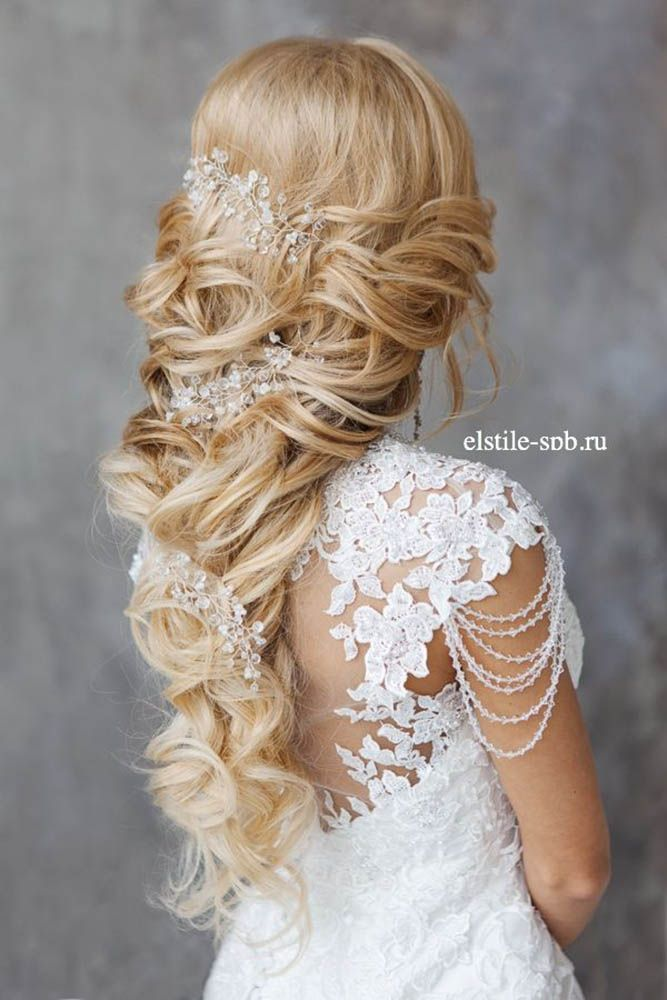 21 Stunning Summer Wedding Hairstyles ❤ If you are so lucky to be getting marr...