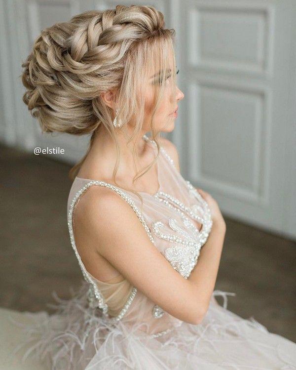 Elstile Long Wedding Hairstyle Inspiration ❤️ www.deerpearlflow...