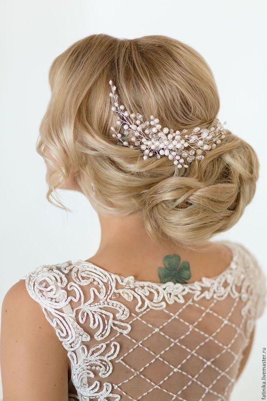 Long Wedding Hairstyles & Bridal Updos via Evgeniya Lebedeva / www.himisspuff.co...