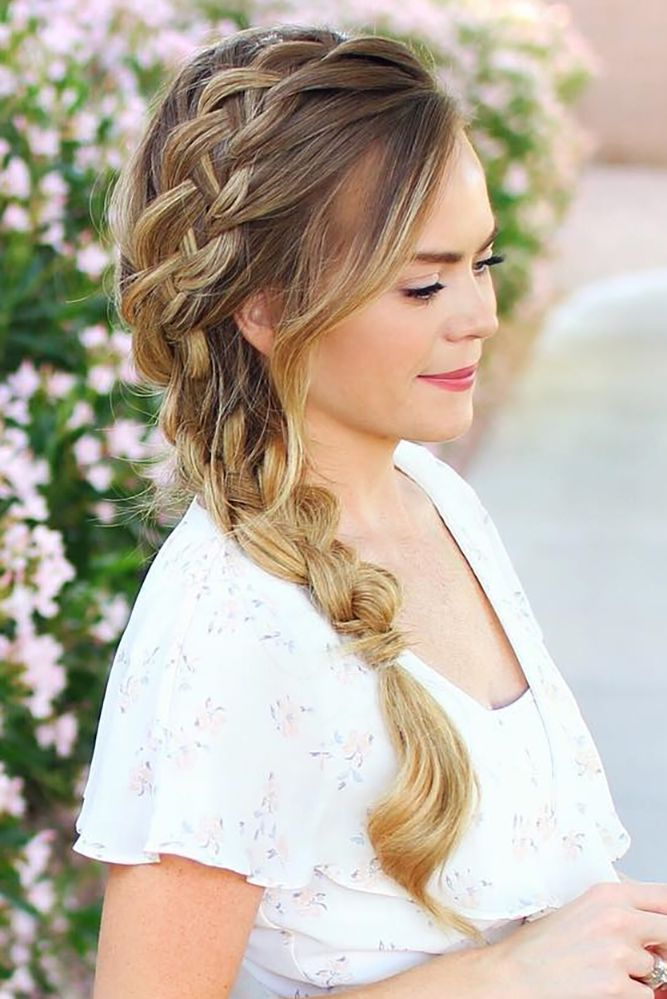 24 Elegant Wedding Hairstyles From All Over The World ❤ See more: www.weddingf...