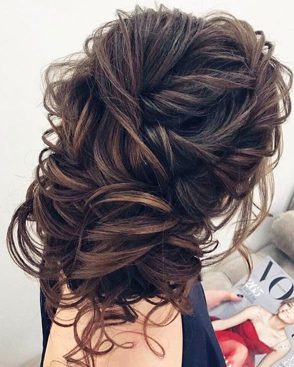 Elstile Long Wedding Hairstyle Inspiration ❤️ www.deerpearlflow...