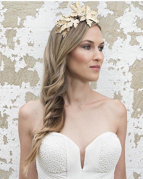 Long Wedding Hairstyles via Vanessa Barney hair / www.himisspuff.co...