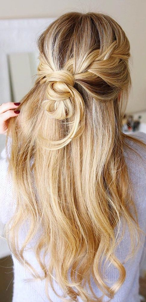 30 Our Favorite Wedding Hairstyles For Long Hair ❤ See more: www.weddingforwar...