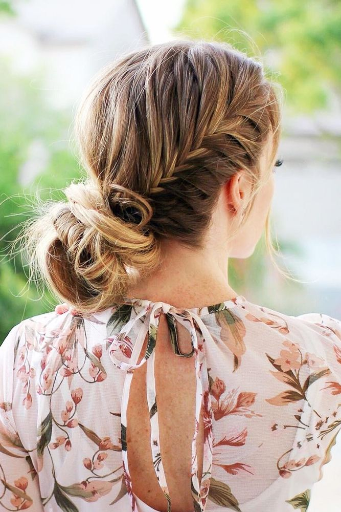 18 Elegant Wedding Hairstyles From All Over The World ❤ See more: www.weddingf...
