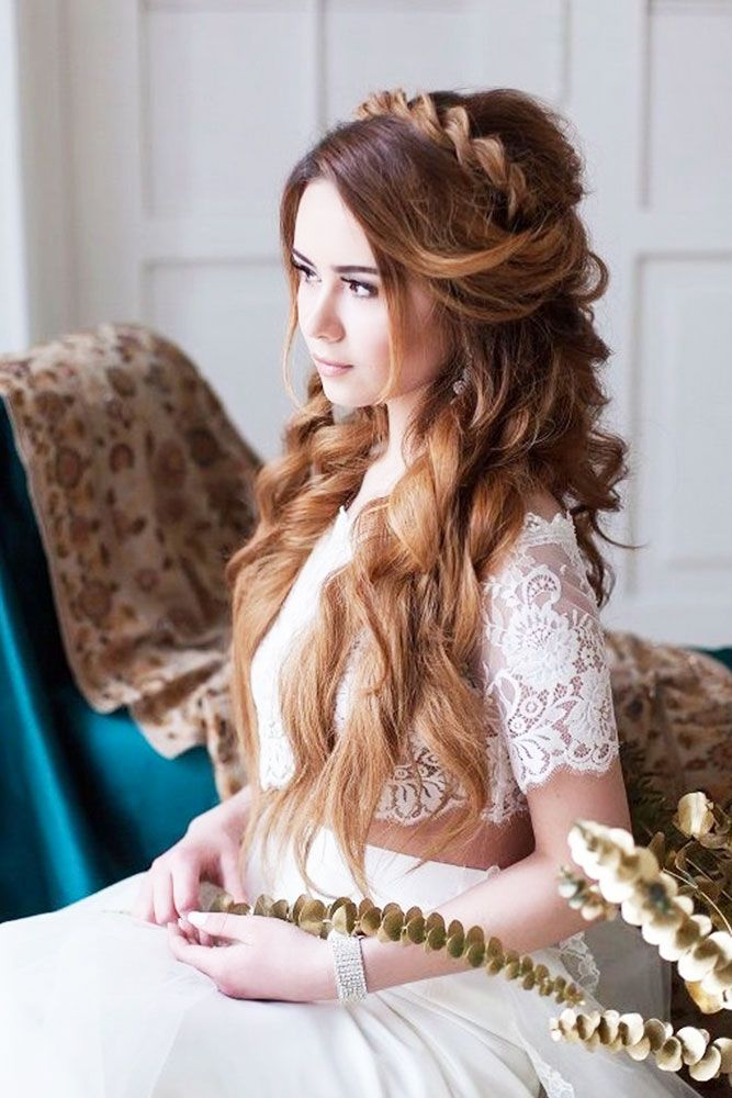 18 Greek Wedding Hairstyles For The Divine Brides❤Luxury, bohemian greek…