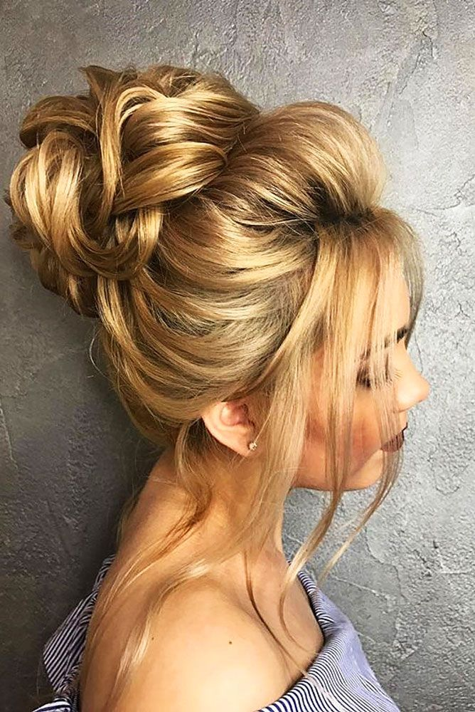 18 Gorgeous Wedding Bun Hairstyles ❤ We created a list of wedding bun hairstyl...