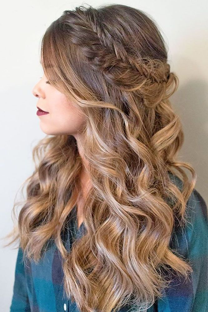 Bridal Hairstyles : 18 Modish Ombre Wedding Hairstyles ❤ See more ...