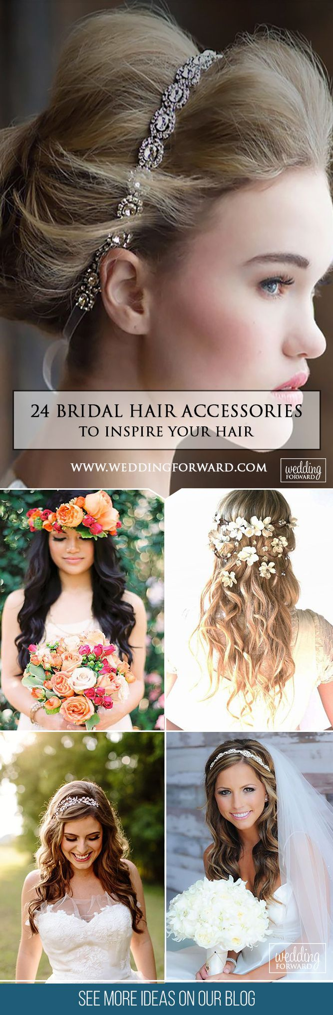 24 Bridal Hair Accessories To Inspire Your Hairstyle ❤Hair accessories let you...