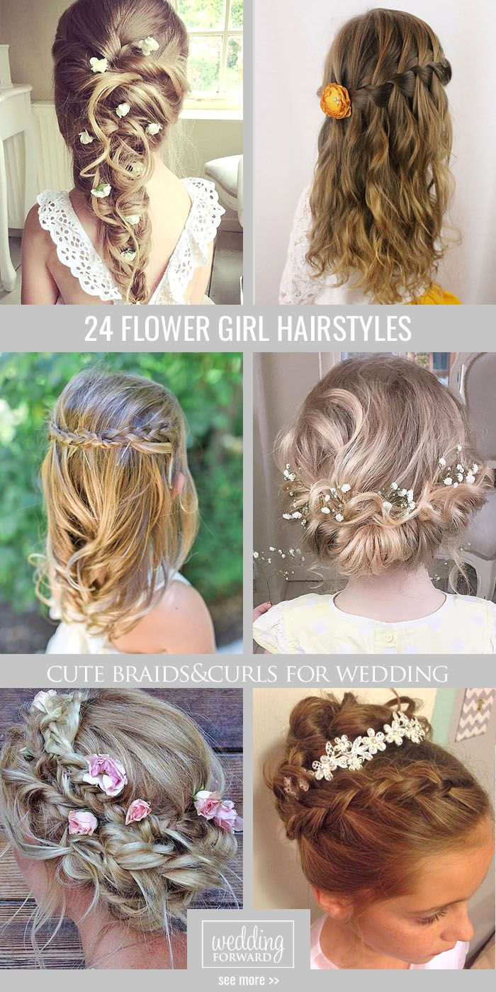 Bridal Hairstyles : 24 Cute Flower Girl Hairstyles ❤ Here you find ...