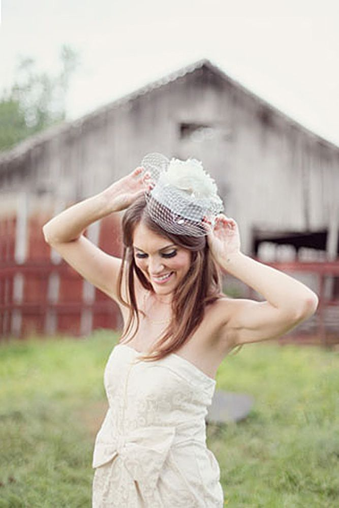 24 Incredible Wedding Hats That Make You Unique ❤ See more: www.weddingforwar....