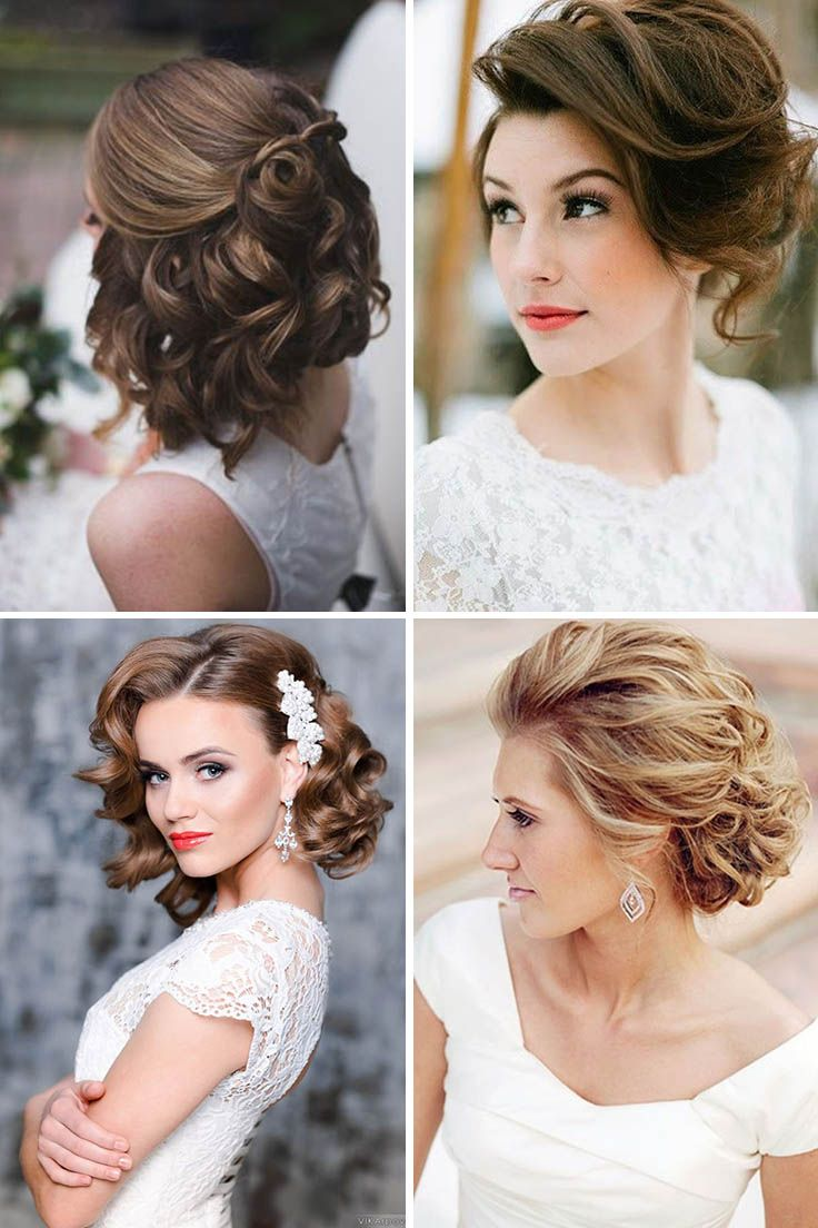 24 Short Wedding Hairstyle Ideas So Good You'd Want To Cut Your Hair ❤ If your...