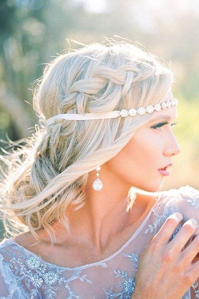 30 Cute And Easy Wedding Hairstyles ❤ See more: www.weddingforwar... #wedding ...