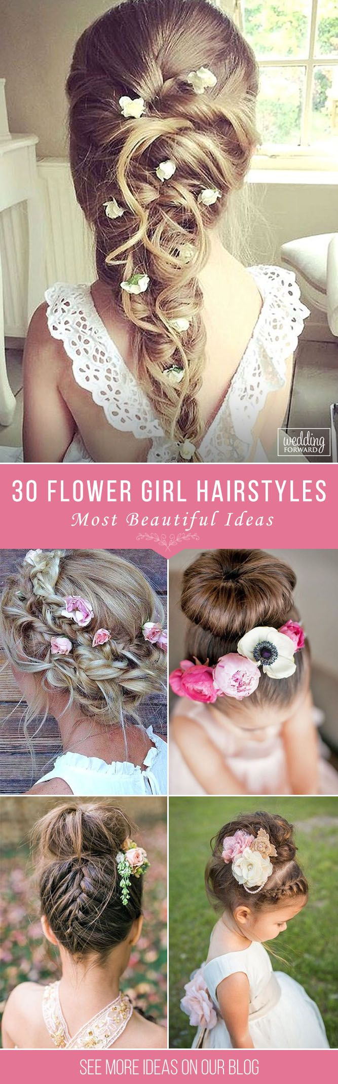 30 Cute Flower Girl Hairstyles ❤ It is necessary to find pretty hairstyle for ...