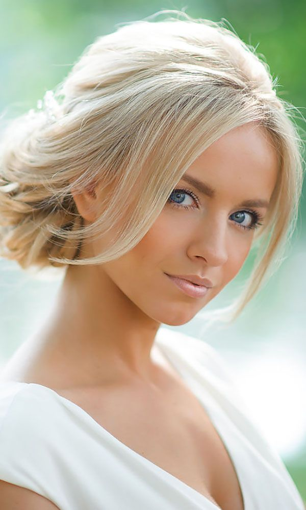 30 Short Wedding Hairstyle Ideas So Good You'd Want To Cut Your Hair ❤ If your...