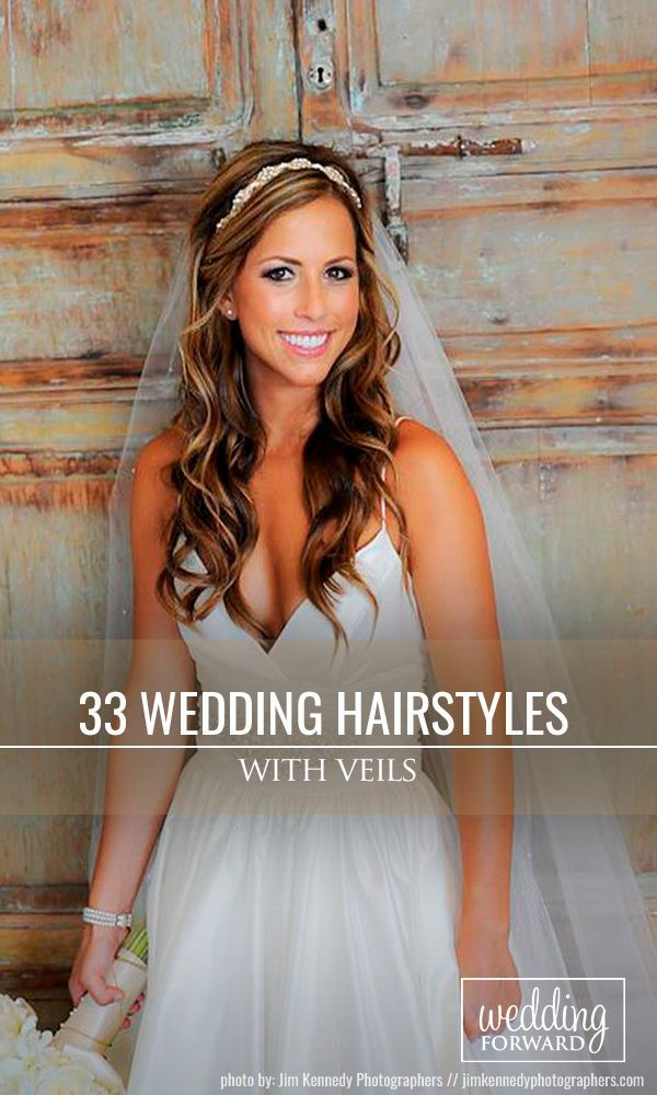 33 Wedding Hairstyles With Veil ❤ We picked up wedding hairstyles with veil fo...