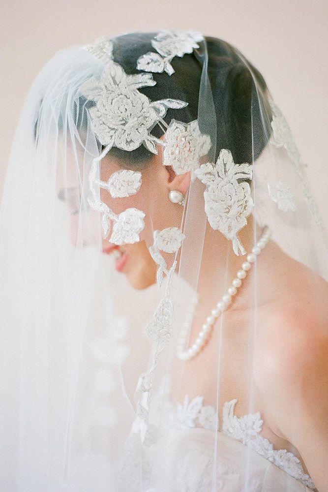 36 Wedding Hairstyles With Veil ❤ See more: www.weddingforwar... #wedding
