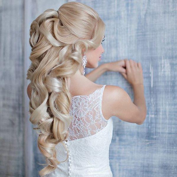 Elstie Long Wedding Hairstyles and Wedding Updos 19 | Deer Pearl Flowers