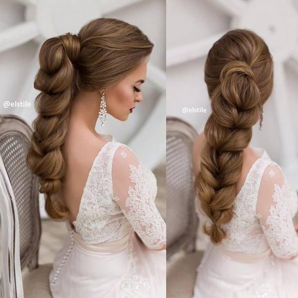 Elstie Long Wedding Hairstyles and Wedding Updos 28 | Deer Pearl Flowers