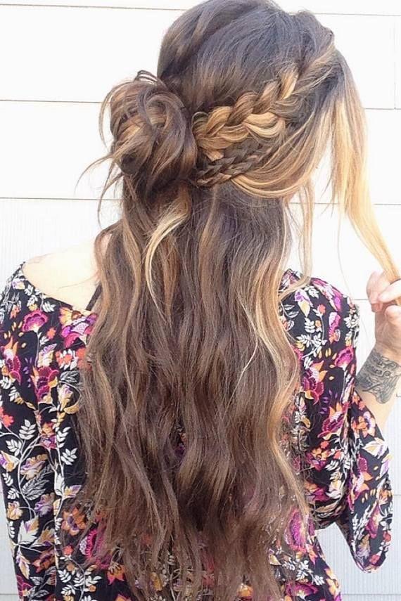 Glambytoriebliss long wedding hairstyles 38   Deer Pearl Flowers