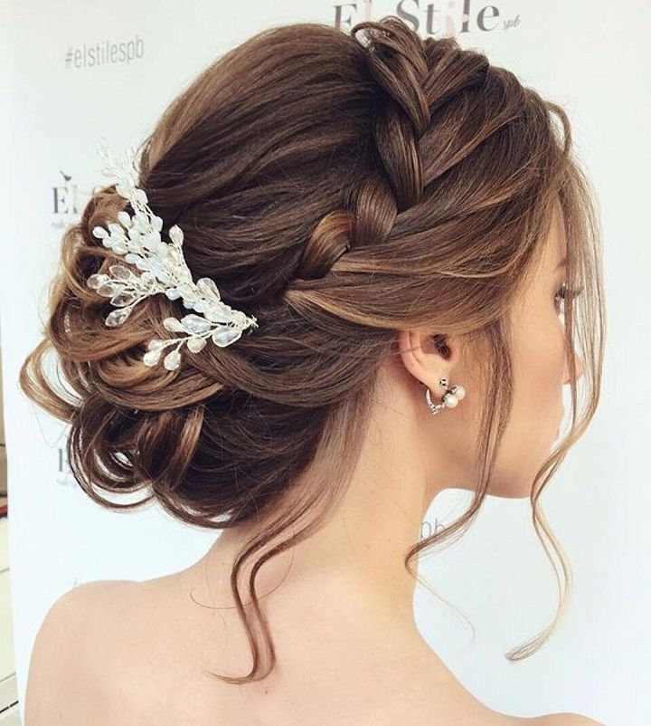 Beautiful braided Updos Wedding hairstyle to inspire you - This stunning wedding...