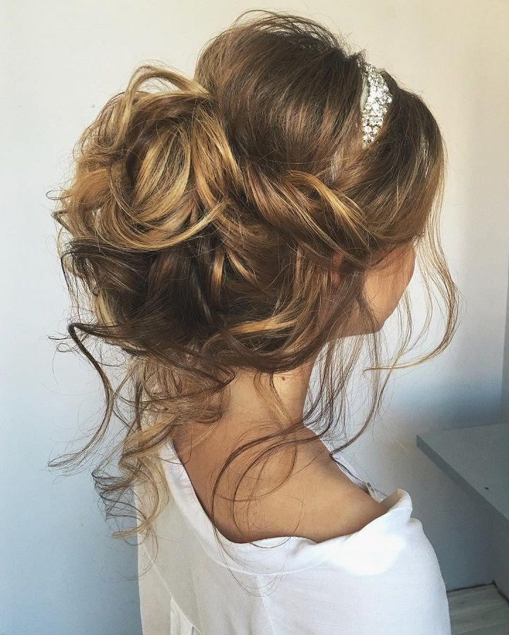 Bridal Hairstyles Inspiration Chic Messy Wedding Updos Hairstyles