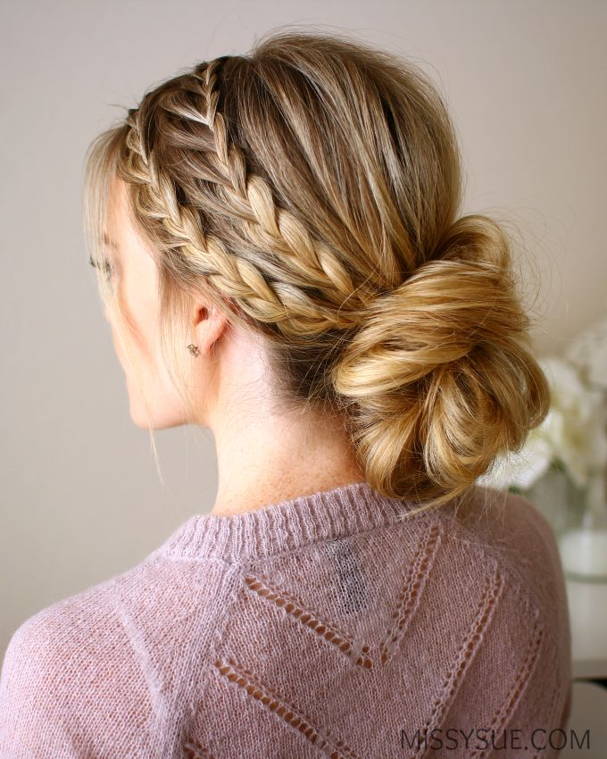 Combination braids will forever be a favorite of mine. I recently did this style...