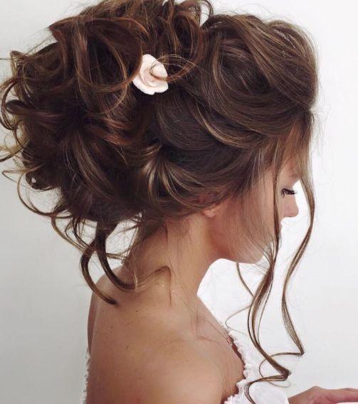 Elstile wedding hairstyles for long hair 10 - Deer Pearl Flowers / www.deerpearl...