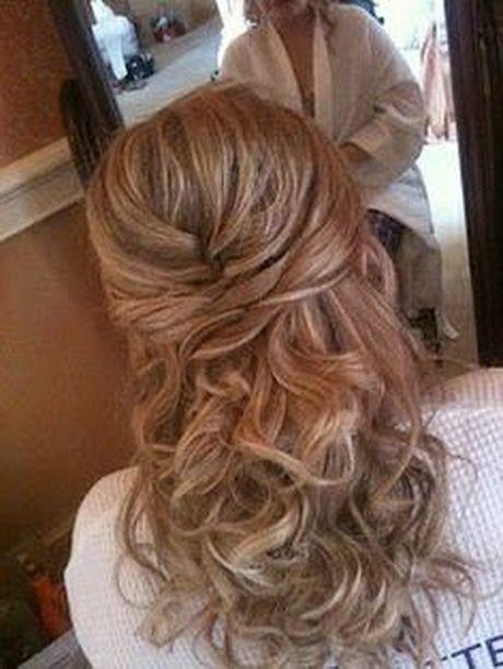 Formal Dance Hair Ideas | Formal Hairstyles for Medium Hair | Wedding Hair half ...
