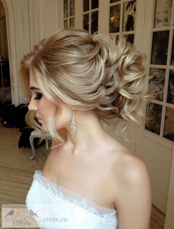 Gorgeous wedding hairstyles and updos from Elstile / www.himisspuff.co...