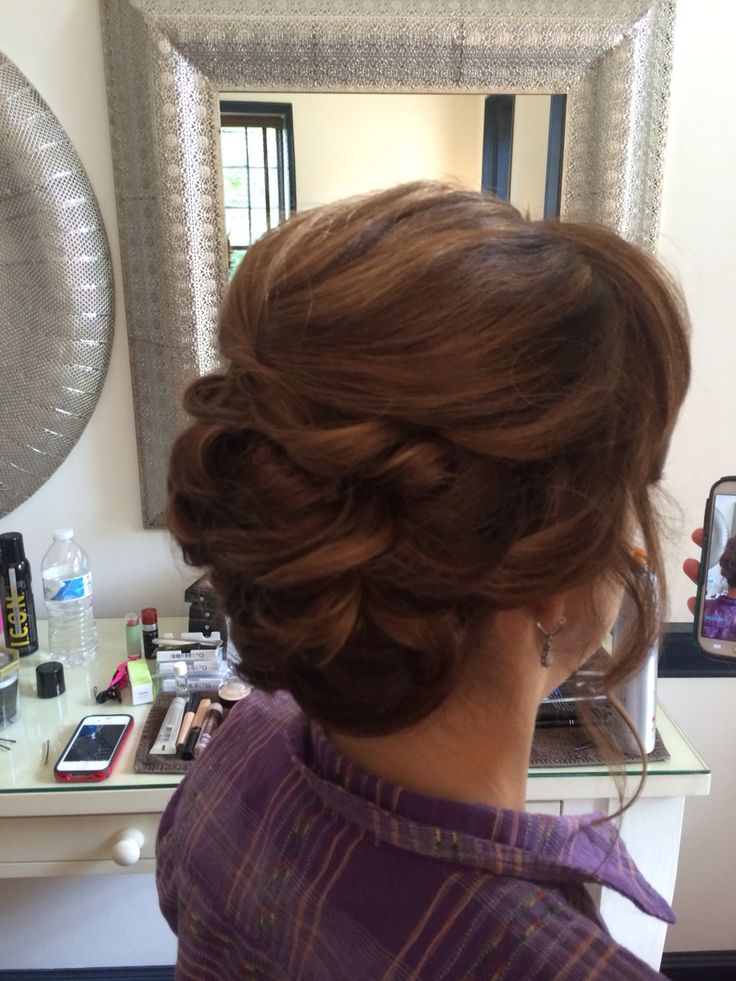 Mother of the Bride up-do
