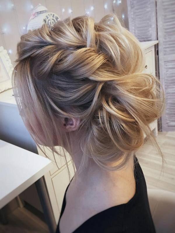 Wedding Hairstyles for Long Hair form Tonyastylist | Deer Pearl Flowers / www.de...