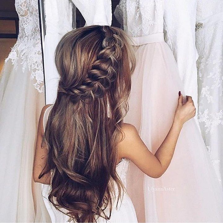 Wedding hairstyles for long hair : Loose Bridal Hairstyle | itakeyou.co.uk #brid...