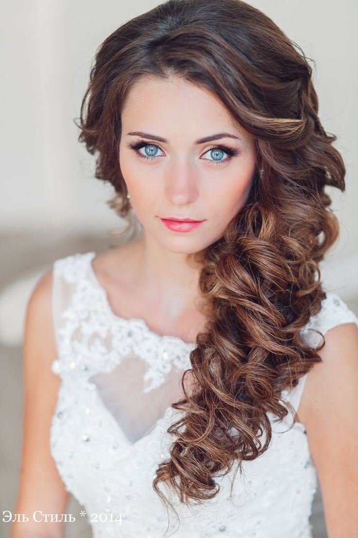 long half up wavy wedding hairstyle / www.deerpearlflow...