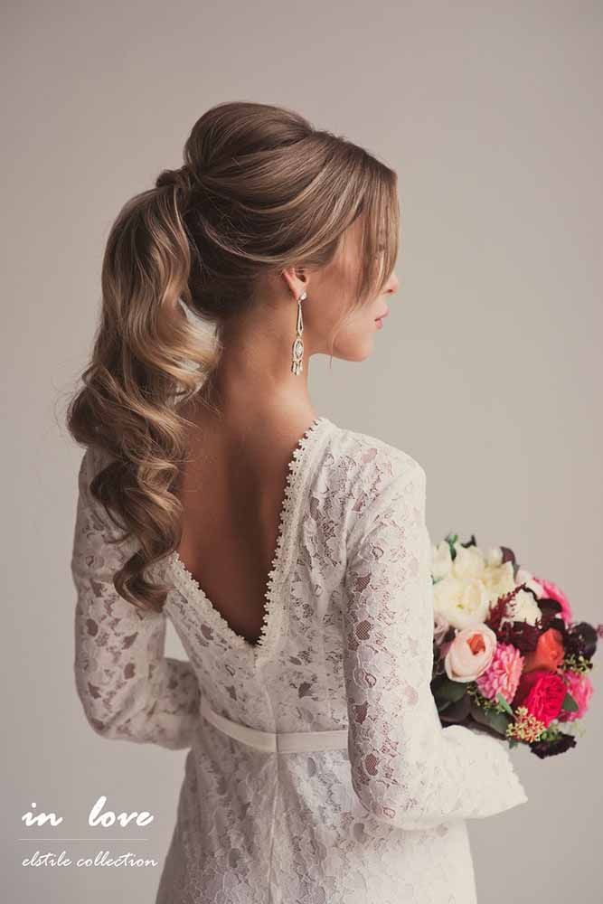 Looking for beautiful wedding hairstyles for long hair? We collected 18 classic ...