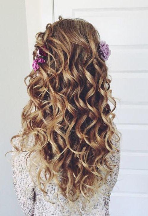Ulyana Aster long down wedding hairstyle / www.deerpearlflow...